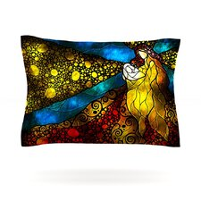 What Child Is This by Mandie Manzano Woven Pillow Sham