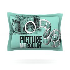 Picture Me Rollin Woven Pillow Sham