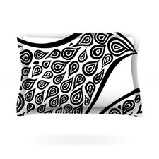 Bird in Disguise White by Pom Graphic Design Cotton Pillow Sham