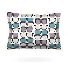 Spectacles Geek Chic by Michelle Drew Cotton Pillow Sham