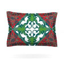 Lace Flakes by Miranda Mol Cotton Pillow Sham
