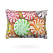 I Want Candy by Libertad Leal Woven Pillow Sham
