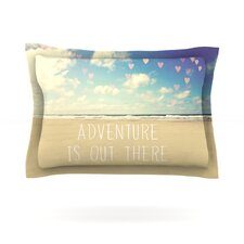 Adventure is Out There by Sylvia Cook Woven Pillow Sham