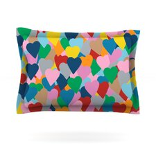 More Hearts by Project M Cotton Pillow Sham