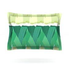 Leeks by Laura Nicholson Cotton Pillow Sham