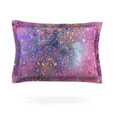 Pink Universe by Marianna Tankelevich Woven Pillow Sham