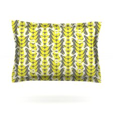 Whirling Leaves by Miranda Mol Cotton Pillow Sham