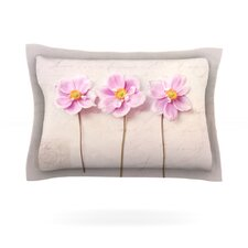 Anemone Trio by Sylvia Cook Woven Pillow Sham