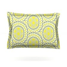 Sprouting Cells by Miranda Mol Woven Pillow Sham