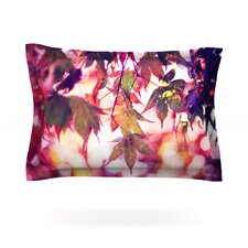 On Fire by Sylvia Cook Woven Pillow Sham