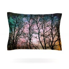 The Birds by Sylvia Cook Woven Pillow Sham