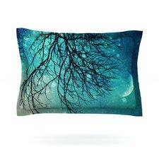 Winter Moon by Sylvia Cook Cotton Pillow Sham