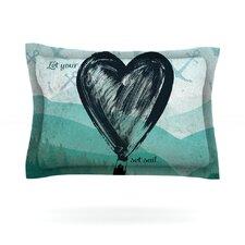 Heart Set Sail by Nick Atkinson Cotton Pillow Sham