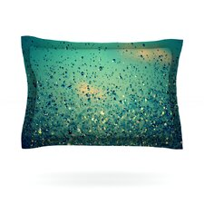 Lullaby, Close Your Eyes by Robin Dickinson Woven Pillow Sham