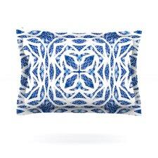Blue Explosion by Miranda Mol Woven Pillow Sham