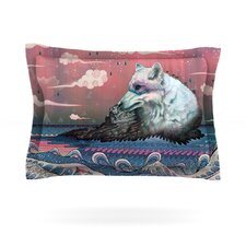 Lone Wolf by Mat Miller Woven Pillow Sham