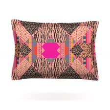 New Wave Zebra by Vasare Nar Woven Pillow Sham