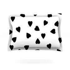 Hearts by Suzanne Carter Cotton Pillow Sham