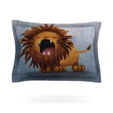 Dandy Lion by Rachel Kokko Cotton Pillow Sham