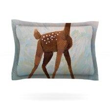 Oh Deer by Rachel Kokko Cotton Pillow Sham
