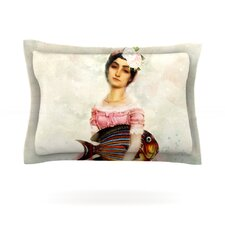 The Gardener by Suzanne Carter Woven Pillow Sham