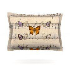 Butterfly Opera by Suzanne Carter Woven Pillow Sham