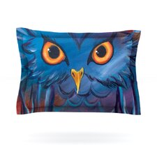 Hoot by Padgett Mason Cotton Pillow Sham
