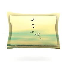 Across The Endless Sea by Robin Dickinson Cotton Pillow Sham