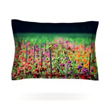 Live in the Sunshine by Robin Dickinson Woven Pillow Sham