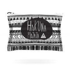 Hakuna Matata by Vasare Nar Cotton Pillow Sham