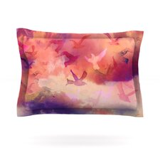 Souffle Sky by Nikki Strange Cotton Pillow Sham