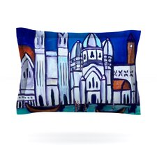 Venice by Theresa Giolzetti Cotton Pillow Sham