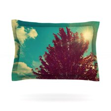 Change is Beautiful by Robin Dickinson Woven Pillow Sham