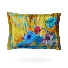 Cosmic Love Garden by Sonal Nathwani Woven Pillow Sham