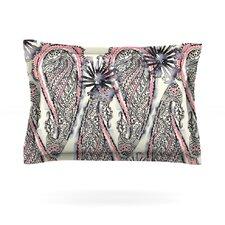 Inky Paisley Bloom by Sonal Nathwani Cotton Pillow Sham