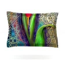 Arabesque Tulip by S. Seema Z Cotton Pillow Sham