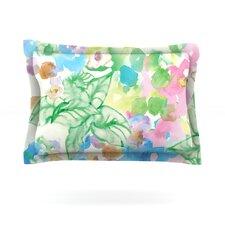Leaf Bouquet by Sonal Nathwani Cotton Pillow Sham