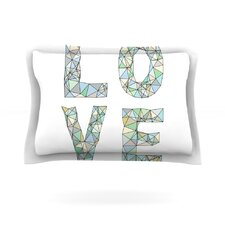 Four Letter Word by Skye Zambrana Woven Pillow Sham