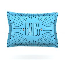 Fearless by Skye Zambrana Cotton Pillow Sham