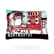 Montmartre by Theresa Giolzetti Cotton Pillow Sham