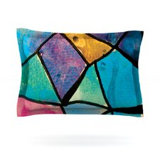 Stain Glass 2 by Theresa Giolzetti Cotton Pillow Sham