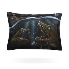 Sink or Swim by Graham Curran Cotton Pillow Sham