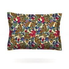 My Boobooks Owls by Julia Grifol Woven Pillow Sham