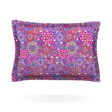 My Happy Flowers by Julia Grifol Cotton Pillow Sham