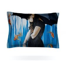 Sink or Swim by Lydia Martin Cotton Pillow Sham