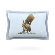 Squirrel by Monika Strigel Woven Pillow Sham