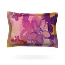 Dissolved Flowers by Louise Machado Woven Pillow Sham
