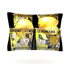 Lemonade by Rosie Brown Woven Pillow Sham