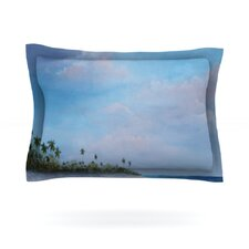 Carefree Carribean by Rosie Brown Woven Pillow Sham
