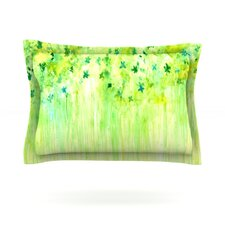 April Showers by Rosie Brown Woven Pillow Sham